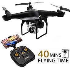 <b>JJRC H68 RC Drone</b> 40MINS Longer Flight Time Quadcopter with ...
