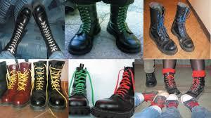 Шнуровка. Значение цвета <b>шнурков</b>(<b>белые</b>, красные,зеленые ...