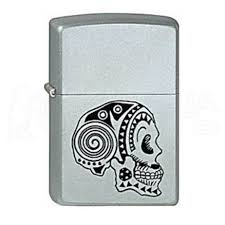 <b>Zippo 205 Tattoo Skull</b> (220.127) CI006634 - <b>зажигалка</b> - Наша Сеть