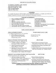 sample resume executive summary resume samples for resume example summary of qualifications seangarrette co sample resume executive summary