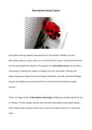 descriptive essay describing person  descriptive essay describing person