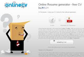 11 Free Online Tools To Create Professional Resume | SmashingApps.com Online CV generator, the easiest way to make CV online with our resume generator.
