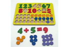 <b>Деревянная игрушка Tau Toy</b> Набор Арифметика 45 знаков ...