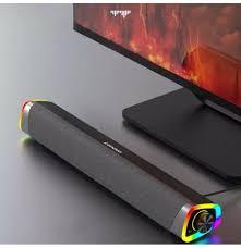 <b>Lenovo L101</b> Computer <b>Speaker</b> Wired Desktop <b>Speaker</b> RGB Light ...