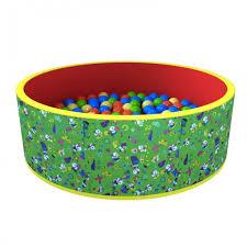 <b>Romana</b> Сухой <b>бассейн Весёлая</b> полянка 100 шариков ...