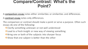 compare contrast essay structure the glass castle analysis page 5 compare contrast