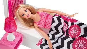 barbie doll and bedroom furniture set barbie sypialnia z lalk megadyskontpl youtube barbie bedroom furniture