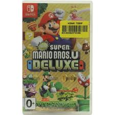 "<b>Видеоигра</b> ""New <b>Super</b> Mario Bros.U Deluxe"" для <b>Switch</b> — купить ..."
