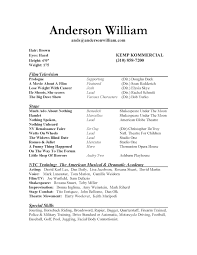 example of acting resume shopgrat resume sample acting resume example windows office resume templates acting