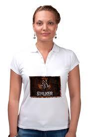 "Рубашка Поло ""<b>Сталкер</b>"" #2779656 от Leichenwagen - <b>Printio</b>"
