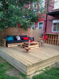 outside furniture made from pallets. diy pallet deck with furniture more outside made from pallets