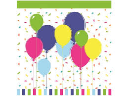 <b>Салфетки Duni</b>, <b>Balloons &</b> Confetti 3 слойные 33*33 см, 20 шт ...