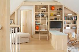 bookcase lighting ideas family room contemporary with library ladder step down living room bookcase lighting ideas
