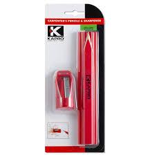 Разметочный <b>набор</b> Kapro (<b>3 строительных карандаша</b> + точилка)