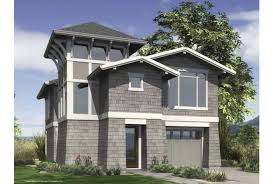 Eplans Contemporary Modern House Plan   Urban Infill Contemporary    Front