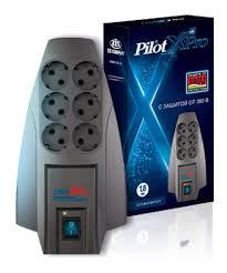 Сетевой фильтр <b>Pilot X-Pro</b> 6 розеток, <b>7</b> м, 802474, <b>серый</b>