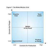 part the managerial grid s five leadership styles faith figure 1 the blake mouton grid