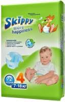 <b>Skippy More</b> Happiness 4 / 72 pcs – купить <b>подгузники</b>, сравнение ...