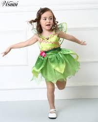 Kids Baby Girls Halloween Party Costumes <b>Flower Fairy</b> Tinker Bell ...