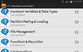 c c questions and answers android apps on google play c c questions and answers screenshot