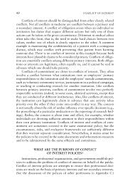 principles for identifying and assessing conflicts of interest page 48