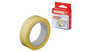 <b>Kores Клейкая</b> лента канцелярская двусторонняя 15 мм ...