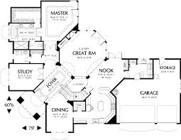 Perfect for the Corner Lot   AM   st Floor Master Suite    Floor Plan