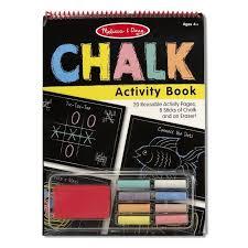 Настольный <b>набор для рисования</b> мелом (Chalk Activity Book) <b>ТМ</b> ...