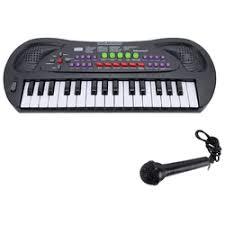 «<b>Музыкальный инструмент zhorya синтезатор</b> с микрофоном, 37 ...