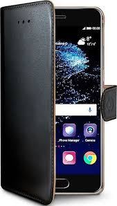 <b>Чехол</b>-<b>книжка Celly</b> Wally Case для <b>Huawei</b> P10 Plusчерный ...
