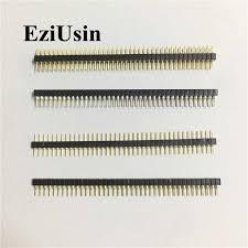<b>2.54mm Single Double dual</b> Row Male 14/15/17mm PCB Pin ...