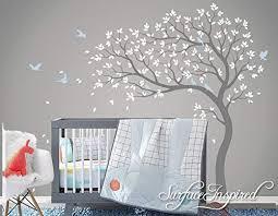 Large Tree <b>Wall Decal</b> Whimsical Summer Tree Removable <b>Nursery</b> ...