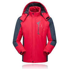 Lixada Men's Jacket <b>Winter Waterproof</b> Coat Outdoor <b>Windproof</b> ...