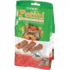 <b>TITBIT Колбаски Petini</b> Ягненок