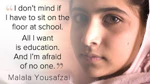 Resultado de imagen de malala yousafzai