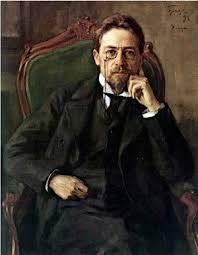 Браз И.Э. Портрет А.П.<b>Чехова</b>, 1898 год