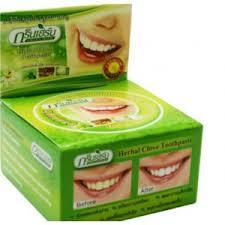 <b>Зубная паста</b> Green Herb Тайская <b>травяная</b> Herbal clove toothpaste