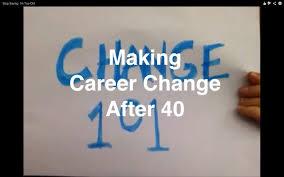 making career change after 40
