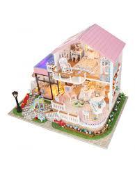 <b>Сборная модель</b> Mini House Дом для принцессы <b>DIY house</b> ...