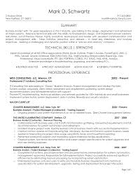 business analyst resume samples sample resume for business in system analyst resume senior business analyst resume summary throughout business analyst resume samples