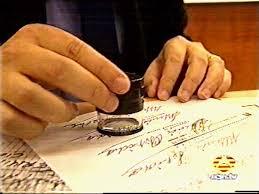 Resultat d'imatges de francisco viñals y mariluz puente  dictamen pericial caligrafico