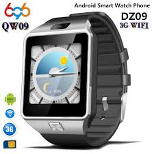 696 QW09 Men Smart Watch Alarm Clock Bluetooth Fitness Tracker ...