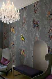 zones bedroom wallpaper: timorous beasties wallcoverings birds n bees for dining room
