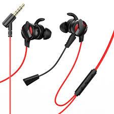 <b>Наушники Baseus GAMO</b> 3.5MM Wired Earphone H15 Red-black ...