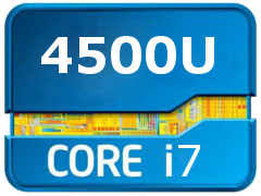 UserBenchmark: Intel Core <b>i7</b>-<b>4500U</b>