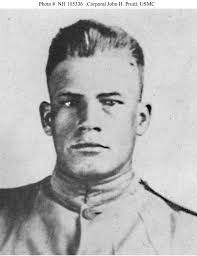 Corporal John Pruitt is 1 of only 19 men (including 7 Marines) to have received the Medal of Honor twice. Corporal John H. Pruitt, USMC, (1896-1918) - c8fd4019-7614-44a3-8553-a1e3da5f6857.jpg%3Frnd%3D0