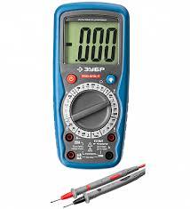 <b>Мультиметр ЗУБР Профессионал</b> цифровой <b>PRO</b>-<b>815</b>-Т в ...