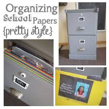 ideas about Organizing School Papers on Pinterest   School     Pinterest Embellishing Life  Organizing School Papers     Great idea to corral all those