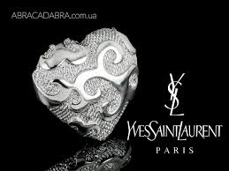 Ив Сен Лоран брошь <b>Yves Saint Laurent</b> украшения бижутерия <b>YSL</b>