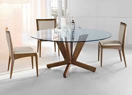 round glass and wood dining table small round dining table for  photo
